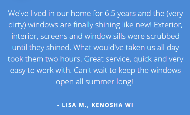 Window Cleaning Gurnee Review